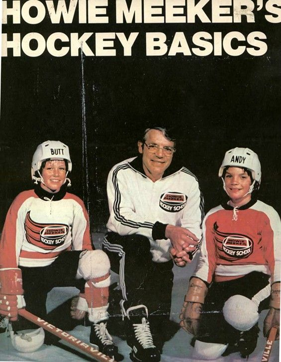 Howie Meeker's Hockey Basics. (featuring Andy and Butt) #ThrowbackThursday