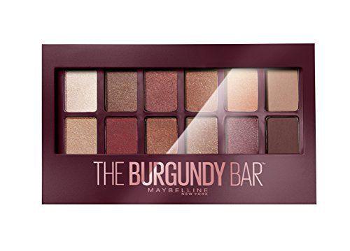 GEMEY MAYBELLINE New York Palette Fard à Paupières The Burgundy Bar: Succombez à la tendance du bordeaux avec la palette The Burgundy Bar…