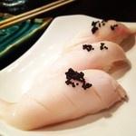 Butterfish Nigiri @ Wasabi & Ginger, Marina #sanfrancisco #foodspotting #sushi