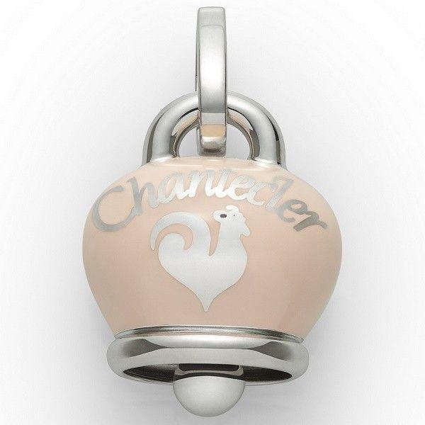 Ciondolo Chantecler Capri a forma di campanella, in argento laccato Ros antico chiaro. Un charm elegante perfetto per tutti i giorni!  #chantecler #chanteclerjewelry #chanteclercapri #charm #charms #ciondoli #campana #campanella #bell #bells #campanelle #rosa #pink