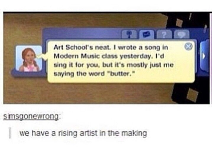 The butter song