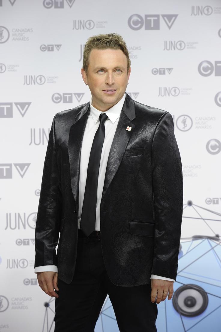 Johnny Reid at The 2012 JUNO Awards