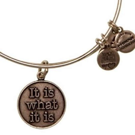 For Hazel!!!!!! Alex and Ani It Is What It Is Russian Silver