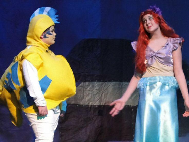 Sebastian And Flounder Costumes Ariel King Tritan And Ursula
