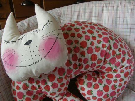 Polštář kočka Malina
