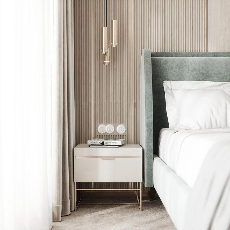helle farbgestaltung  schlafzimmer  gemütlich in 2020