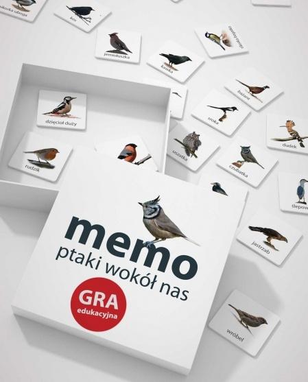 Polskie ptaki w memo dla maluchów