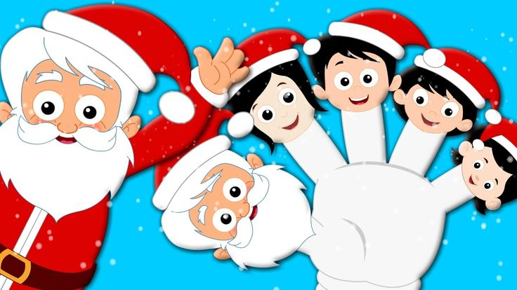 Santa Claus Finger Family Christmas Carol Christmas Songs kids tv S02 EP...