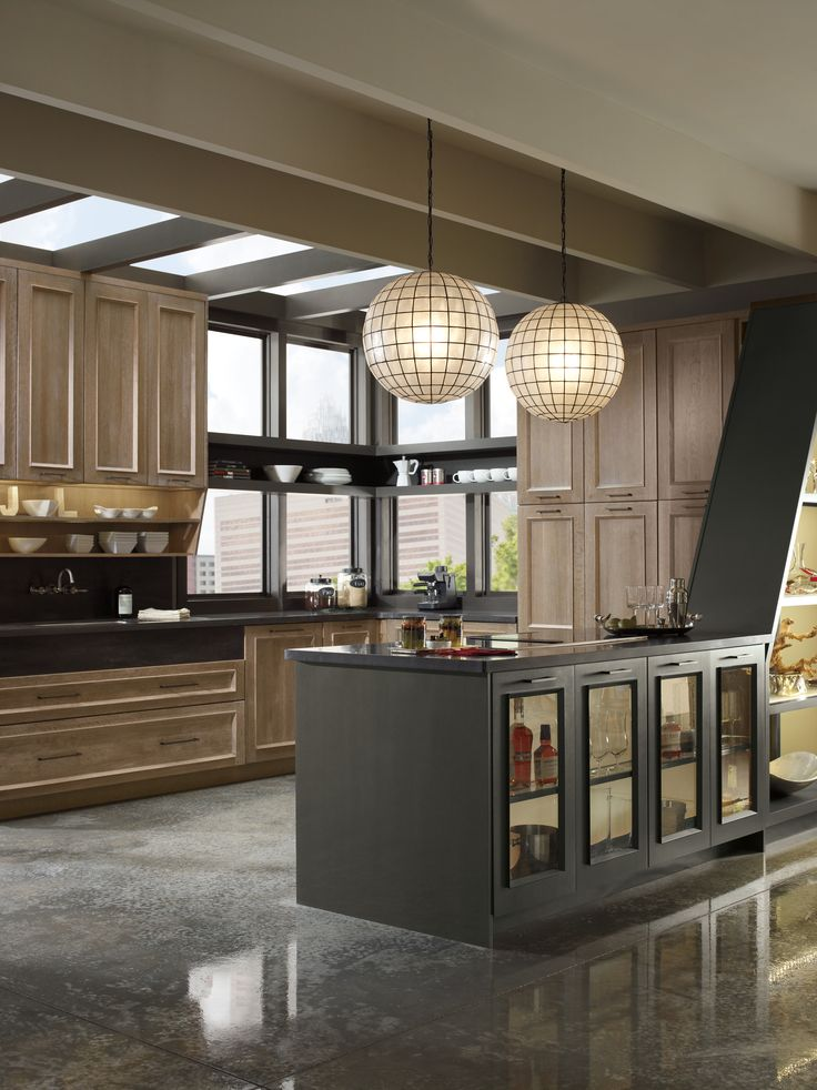 In Love With This Cabinetry Design By Omega Soft Wood Hues Mix Well The