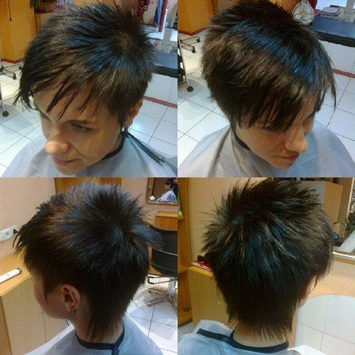 20 Short Spiky Hairstyles For Women Frisyrer