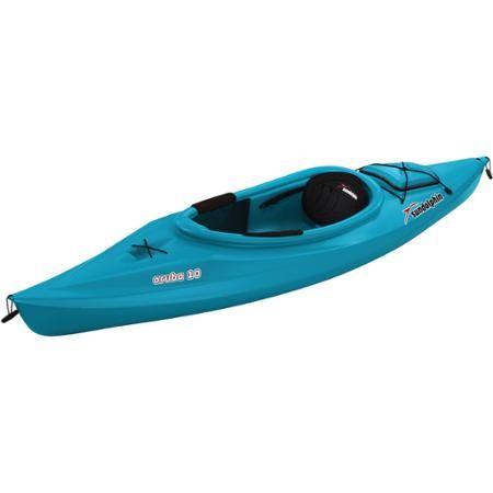 Sun Dolphin Aruba 10' Sit In Kayak, Paddle Included - Walmart.com