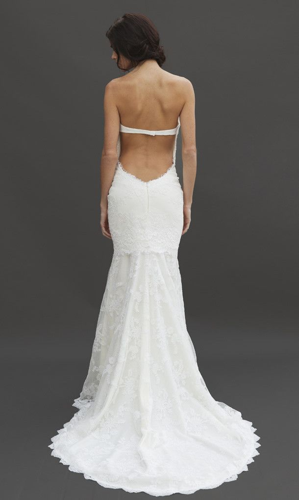 54 best bridal gowns katie may images on pinterest for Backless wedding dress bra