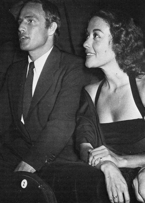 Marlon Brando & Movita Castaneda