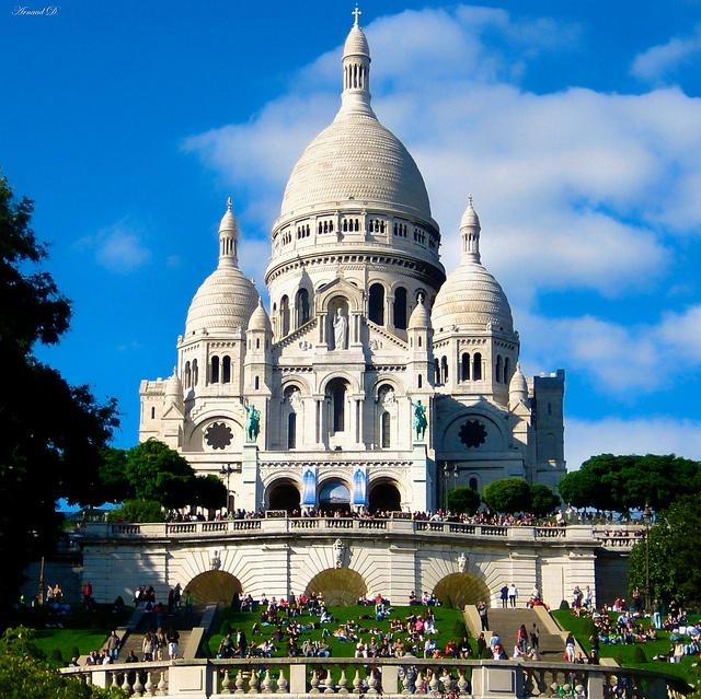 Le Sacre Coeur/ Paris France