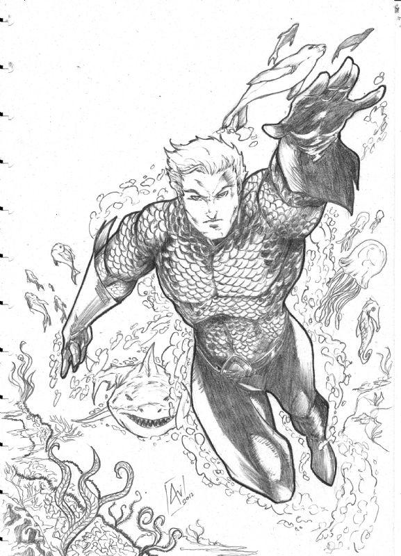 444 Best Aquaman Images On Pinterest | Comics Cartoon Art And Comic Art