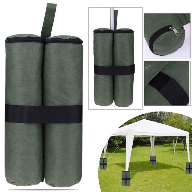 4pcs Canopy Sand Shelter Tent Weight Bag Durable Gazebo Tent Leg