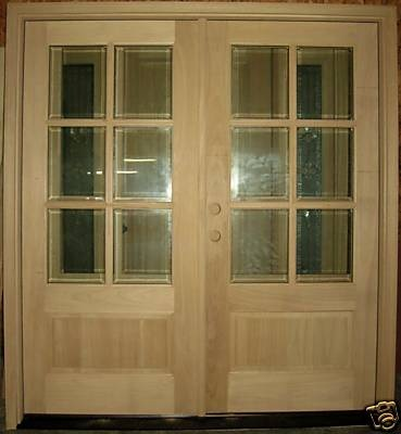 Craftsman prairie style french doors outdoor living for Craftsman french doors