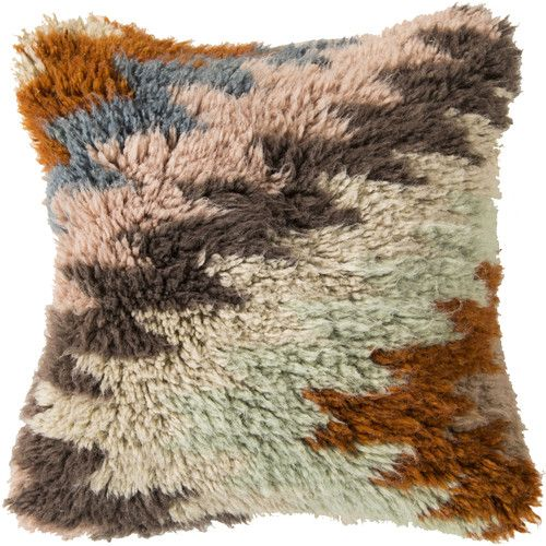 Found it at Wayfair - Zig Zagging Delight Wool Throw Pillow