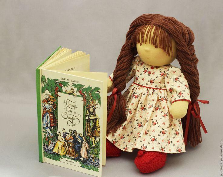 Купить Вальдорфская кукла - кукла, кукла ручной работы, кукла текстильная, кукла для игры