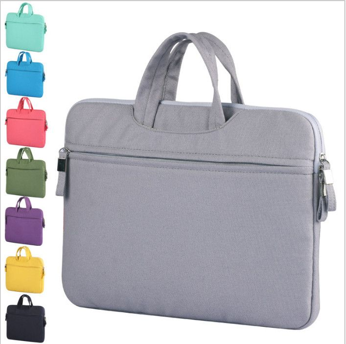 newest Canvas 11 12 13 15 inch Laptop Bag Sleeve Notebook Sleeve Bag Case briefcase For Macbook Pro Air Retina