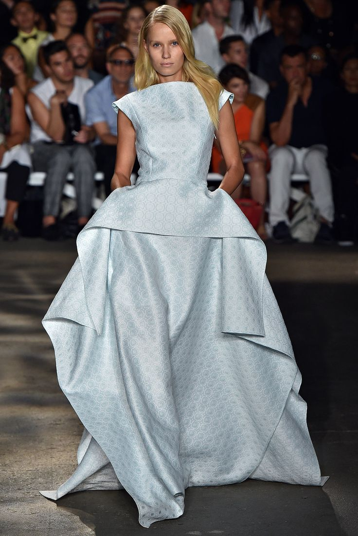 18 best images about Christian Siriano Spring 2015 on ...