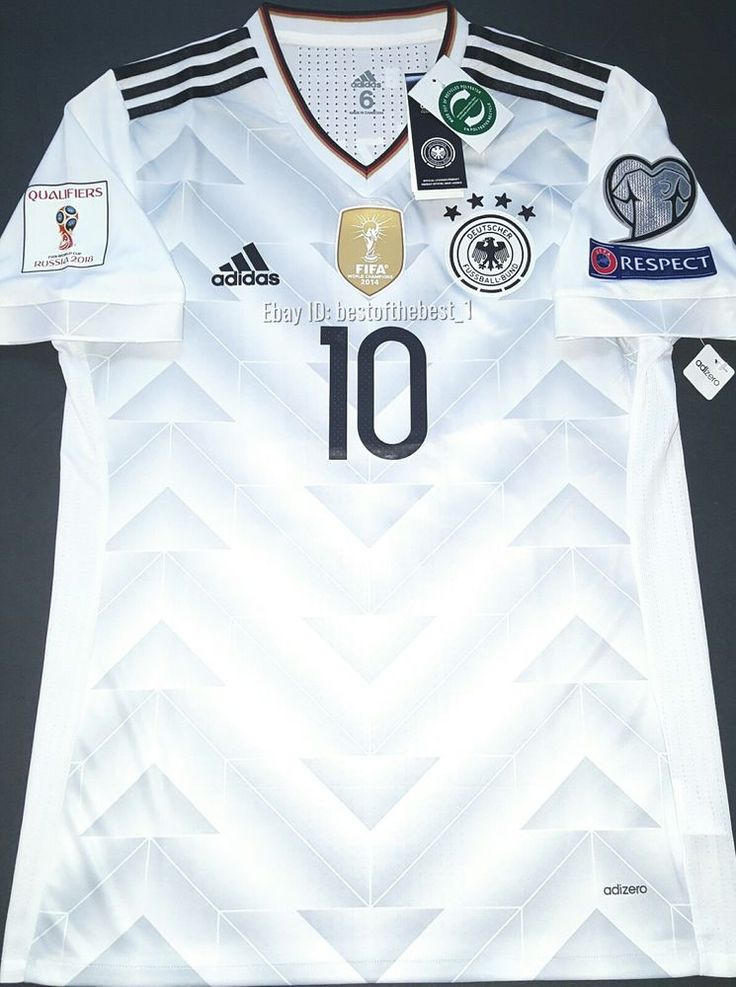 details about germany world cup 2018 home soccer jersey shirt trikot player issue 18 kimmich. Black Bedroom Furniture Sets. Home Design Ideas