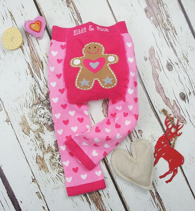 Blade & Rose Leggings - Pink Gingerbread - Josh & Jenna | Nursery Decor and Kids Store