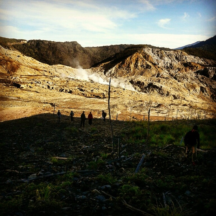 Mt. Papandayan, West Java, Indonesia