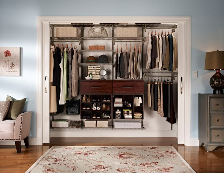 14 best Closetmaid Work images on Pinterest | Bedroom closets ...