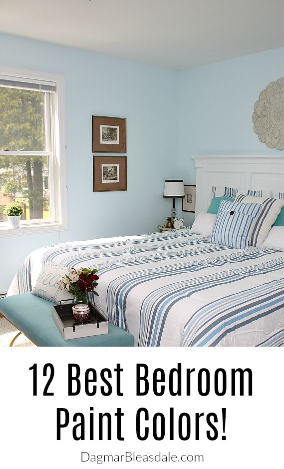 Here Are The Prettiest Bedroom Wall Colors Get Inspired To Try Something New Color Ideas Babyblue Blue Greige