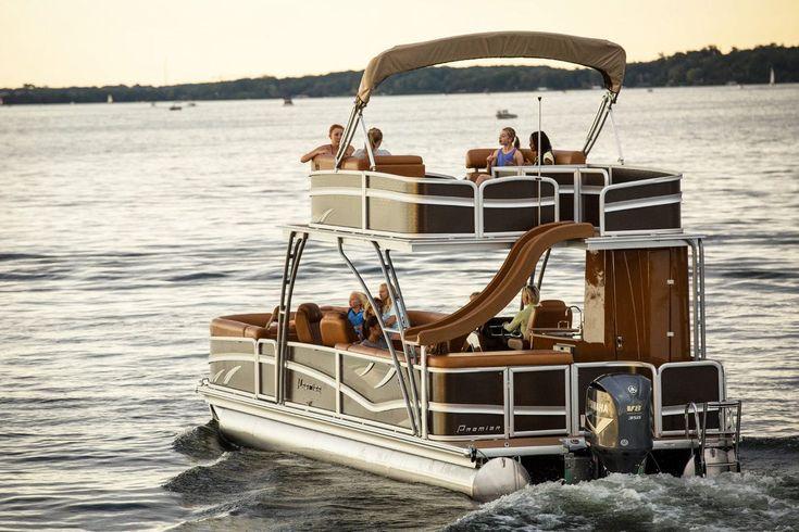 Premier Pontoons: Motor boats - NauticExpo