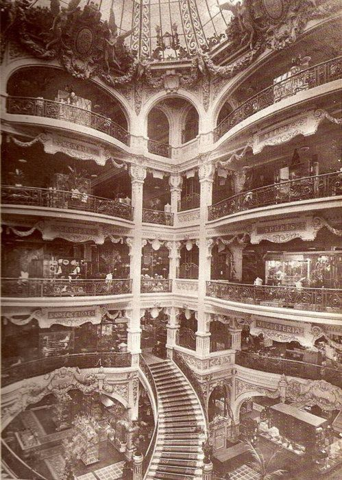 This is what I think department stores should look like.