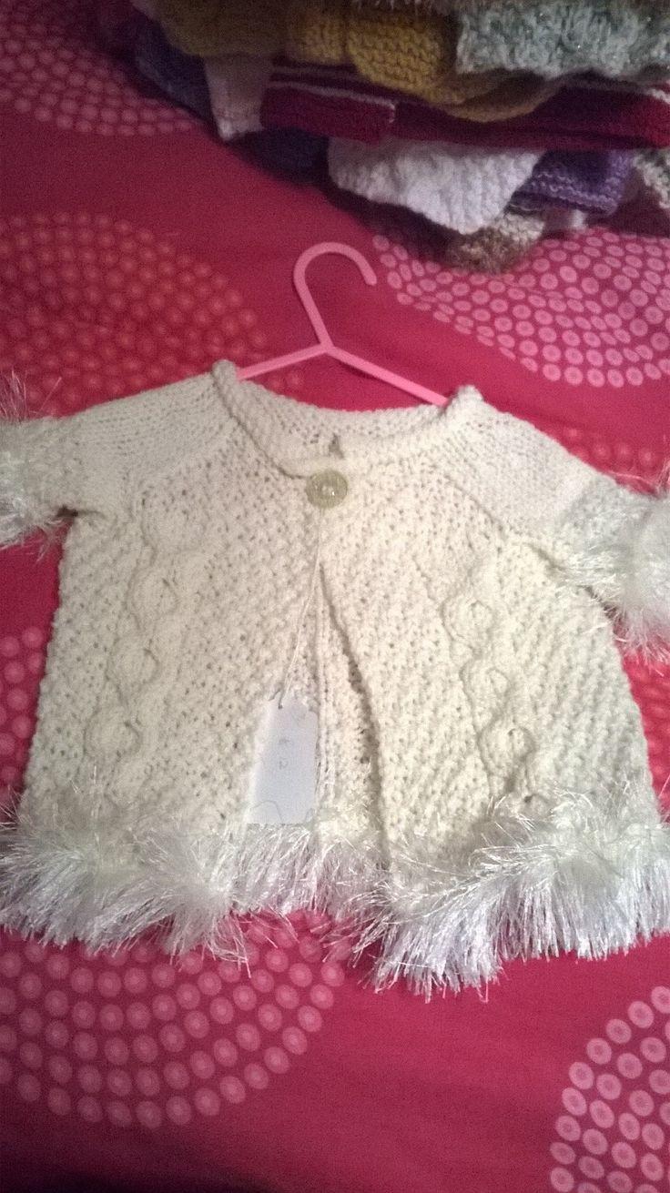 Cute little waist coat age3-6 months £12+p&p