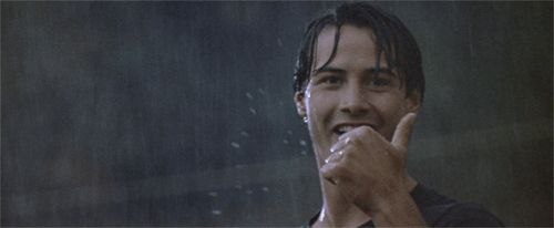 KEANU REEVES GIFS | Why 'Point Break' Just May Be 1991's Perfect Movie