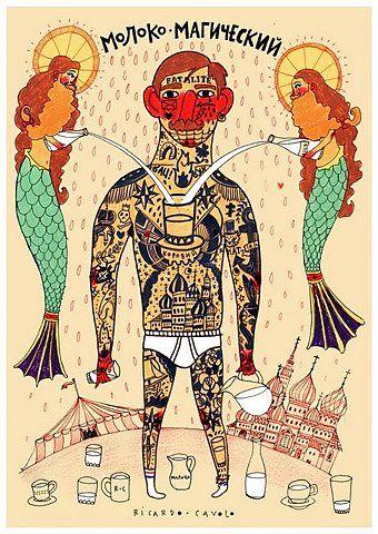 Ricardo Cavolo  http://www.creativeboysclub.com/