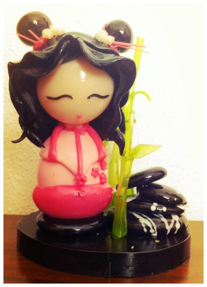 Geisha isomalt | i pastici di Molly | Pinterest | Isomalt and Geishas