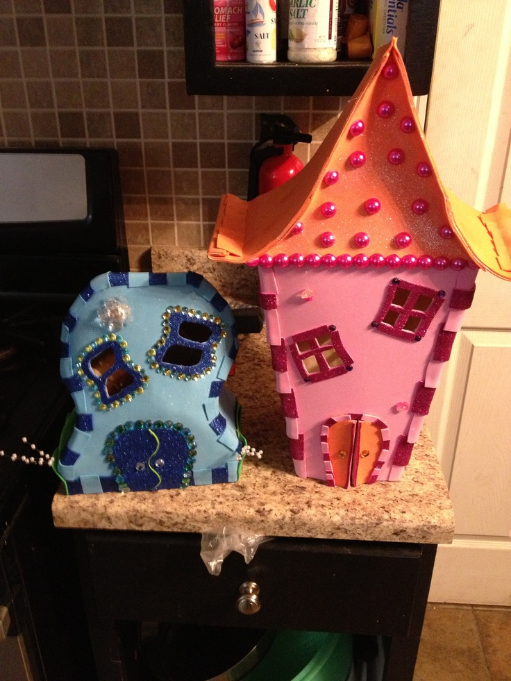 The Start Of My Whoville Houses With Images Whoville