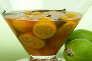Mulled Feijoas recipe, Regional Newspapers – visit Food Hub for New Zealand recipes using local ingredients – foodhub.co.nz