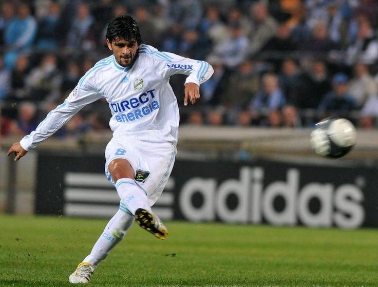 Lucho Gonzalez, Olympique de Marseille.