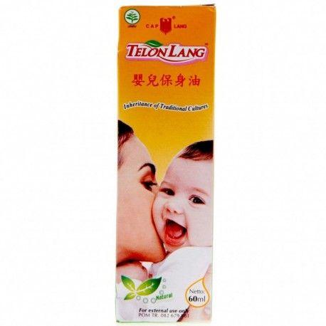 TELON LANG Minyak Telon 60ml : Rp 15.900