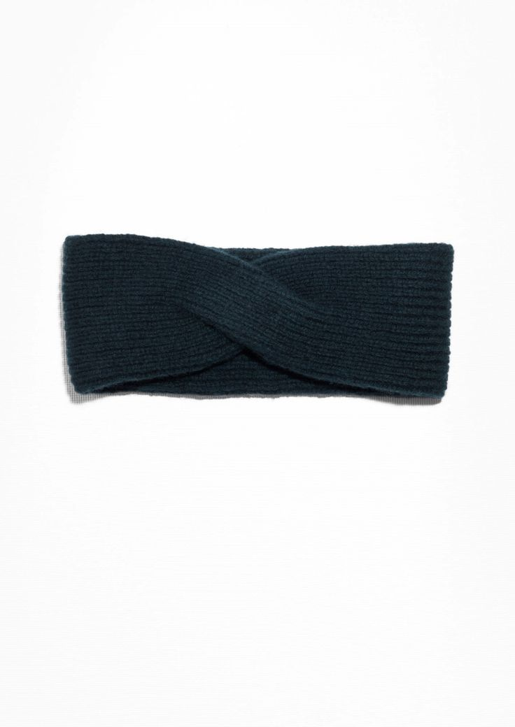 & Other Stories   Wool Cable Knit Headband