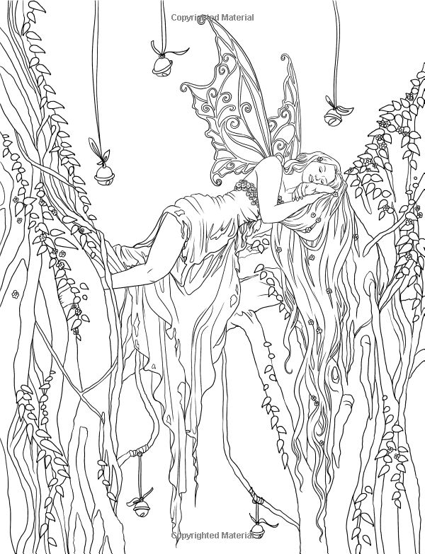 Amazon.fr - Enchanted - Magical Forests Coloring Collection - Selina Fenech - Livres