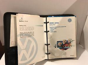 a 2000 00 volkswagen vw jetta owners manual w case 407