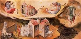 Creation of the world or microcosm - Remedios Varo