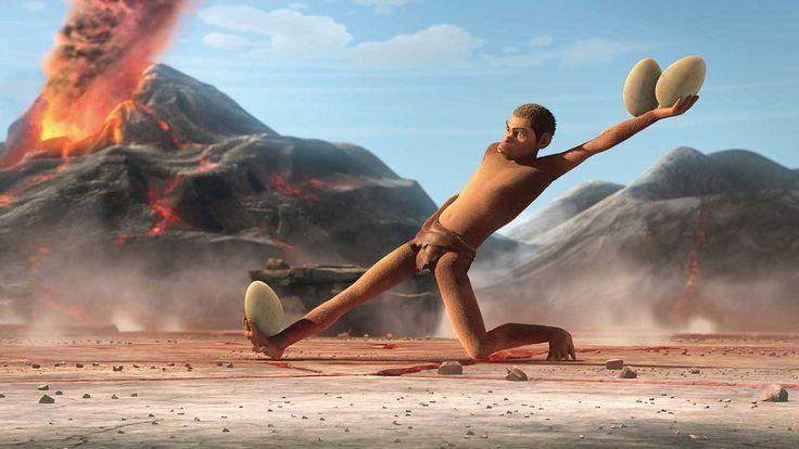 En rablende skør animationsfilm sat for to millioner år siden, inden Homo blev…