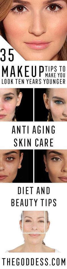 Makeup Tips To Make You Look Younger - Look 10 Years Younger With These Anti Aging Skin Care Ideas - Simple Skincare Techniques for Reversing Signs of Aging - Natural Remedies and Recipes for How to Make Coconut Serums and How To Get Flawless SKin - thegoddess.com/makeup-tips-to-make-you-look-younger