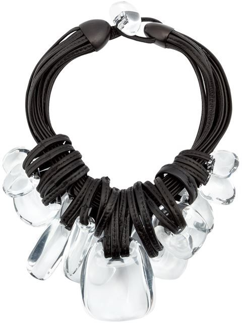 Compre Monies oversized stone necklace em Patron of the New from the world's best independent boutiques at farfetch.com. Shop 300 boutiques at one address.