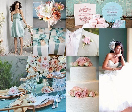 15 best Light Pink & Blue, Champagne & Smoke Grey Wedding Colours ...