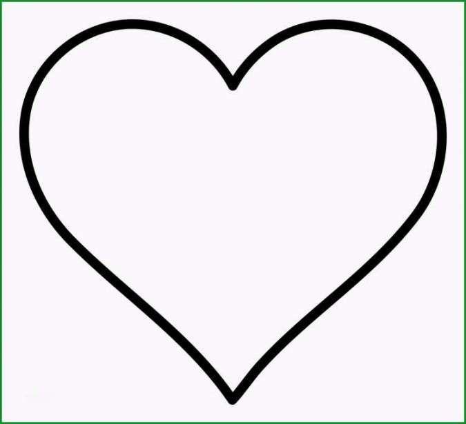 Herz Vorlage Zum Ausdrucken (mit Bildern) | Herz vorlage ...