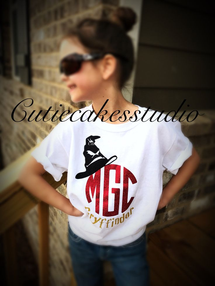 Harry Potter monogram shirt Tank top Girl Baby Toddler Ladies Gryffindor universal studios by Cutiecakesstudio on Etsy https://www.etsy.com/listing/494563848/harry-potter-monogram-shirt-tank-top